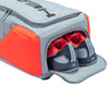 Head Rebel Racquet Backpack Bag - Grey & Orange