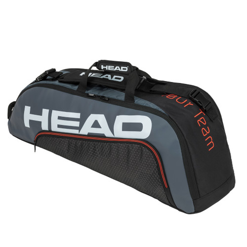 Head Tour Team Combi 6 Racquet Bag - Black & Grey