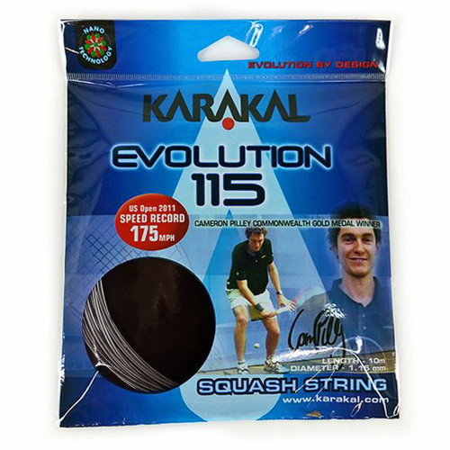 Karakal Evolution 115 Squash Strings 10 Meter Set