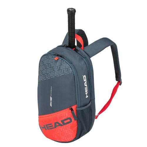 Head Elite Racquet Backpack Bag - Grey & Orange