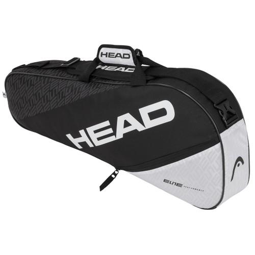 Head Elite Pro 3 Racquet Bag - Black & White