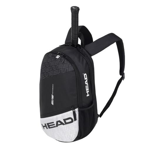 Head Elite Racquet Backpack Bag - Black & White