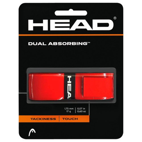 Head Dual Absorbing Replacement Grip - Red