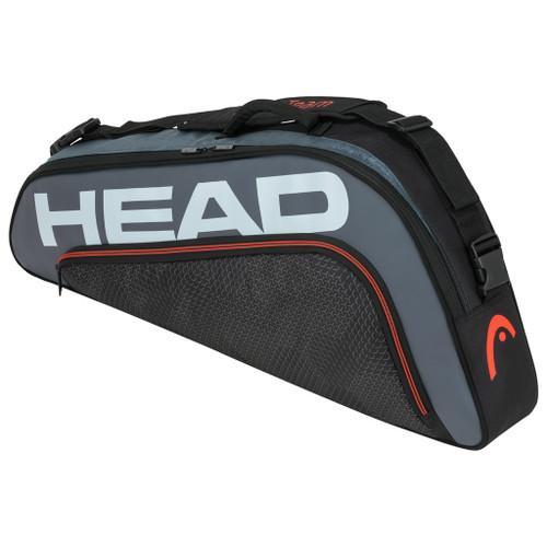 Head Tour Team Pro 3 Racquet Bag - Black & Grey