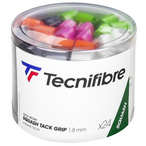 Tecnifibre Squash Tack Replacement Grip - 24 Grip Box