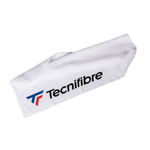 Tecnifibre Absorbent White Cotton Sports Towel
