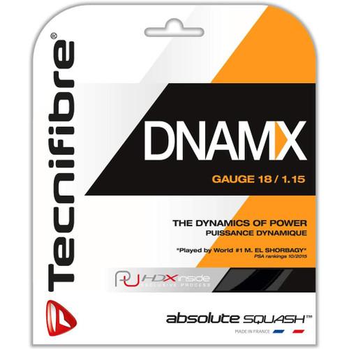Tecnifibre DNAMX Squash String 9.7 Meter Set - Black