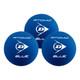 Dunlop Atomic Blue Racquetball Balls - 3 Ball Tube