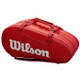 Wilson Super Tour 3 Compartment 15 Racquet Bag - Red