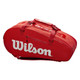 Wilson Super Tour 2 Compartment 9 Racquet Bag - Red
