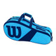 Wilson Match III 3 Racquet Bag - Blue