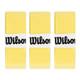 Wilson Pro Overgrips 3 Pack - Yellow