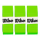 Wilson Pro Overgrips 3 Pack - Blade Green
