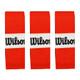 Wilson Pro Overgrips 3 Pack - Burn Orange
