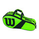 Wilson Match III 3 Racquet Bag - Blade Green