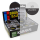 Karakal Comp Single Yellow Dot Squash Balls - 1/2 Dozen