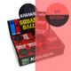 Karakal Impro Red Dot Squash Balls - 1/2 Dozen