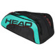 Head Tour Team Monstercombi 12 Racquet Bag - Black & Teal