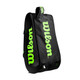 Wilson Super Tour 3 Compartment 15 Racquet Bag - Charcoal