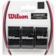 Wilson Ultra Wrap Overgrips 3 Pack - Black