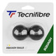 Tecnifibre Single Yellow Dot Squash Balls - 2 Pack