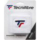 Tecnifibre Absorbent Sweatband Wristbands Twin Pack - White