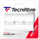 Tecnifibre Players Pro Overgrips 3 Pack - White
