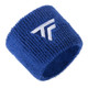 Tecnifibre Absorbent Sweatband Wristbands Twin Pack - Blue
