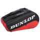 Dunlop CX Performance 8 Racquet Bag - Black / Red