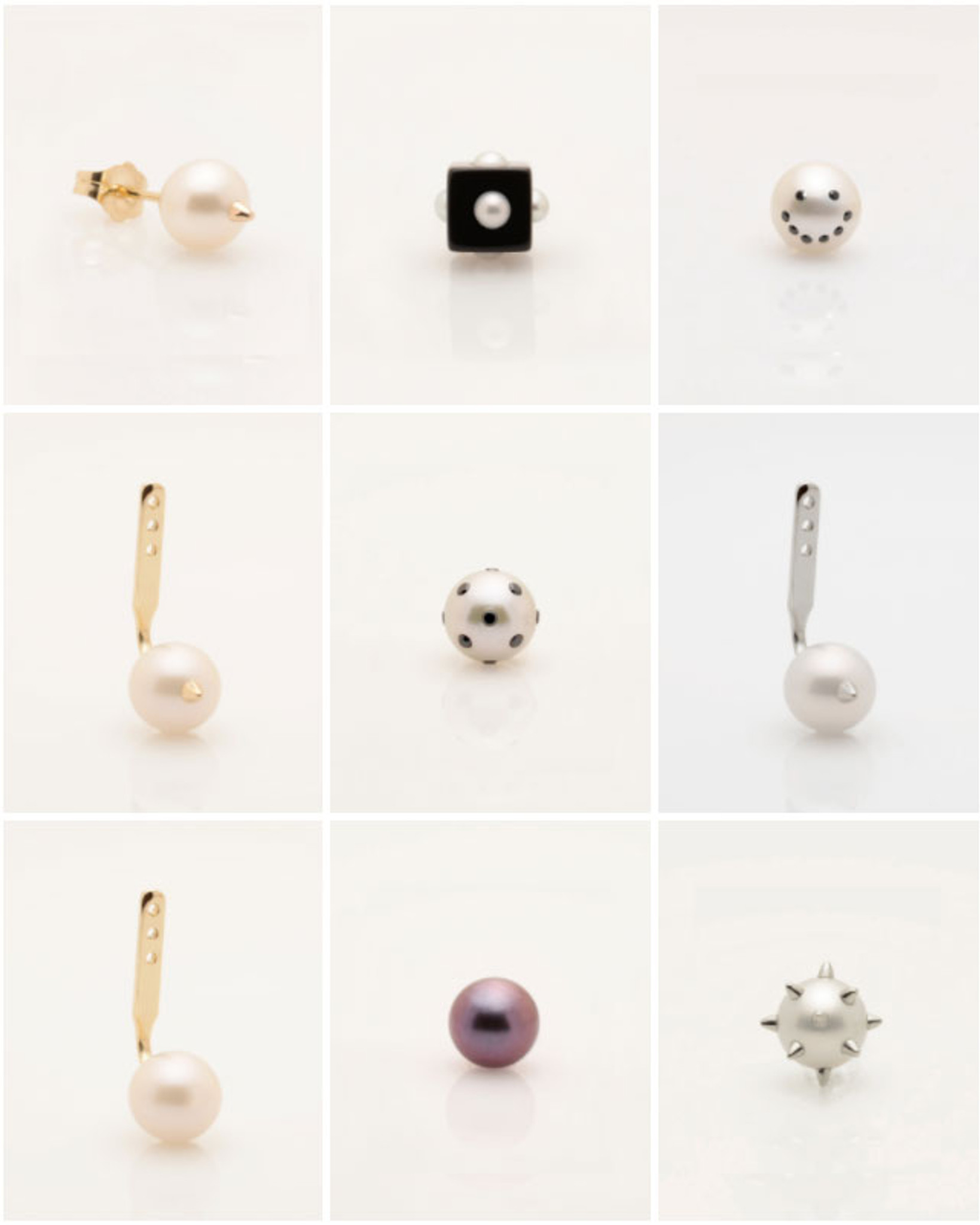 Pearl Single Earrings to Mix and Match by Jewelry Designer Nektar De Stagni