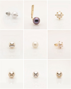 Single Earrings to Mix and Match by Designer Nektar De Stagni