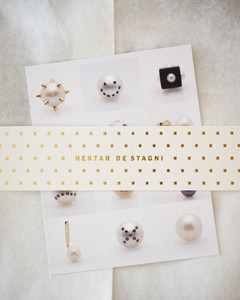 Packaging details from Nektar De Stagni Fine Jewelry