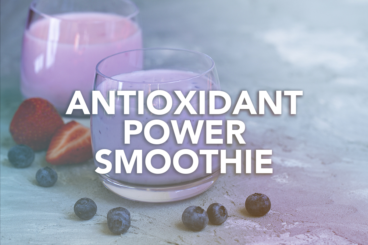 Rivalus At Home Recipes: Antioxidant Power Smoothie