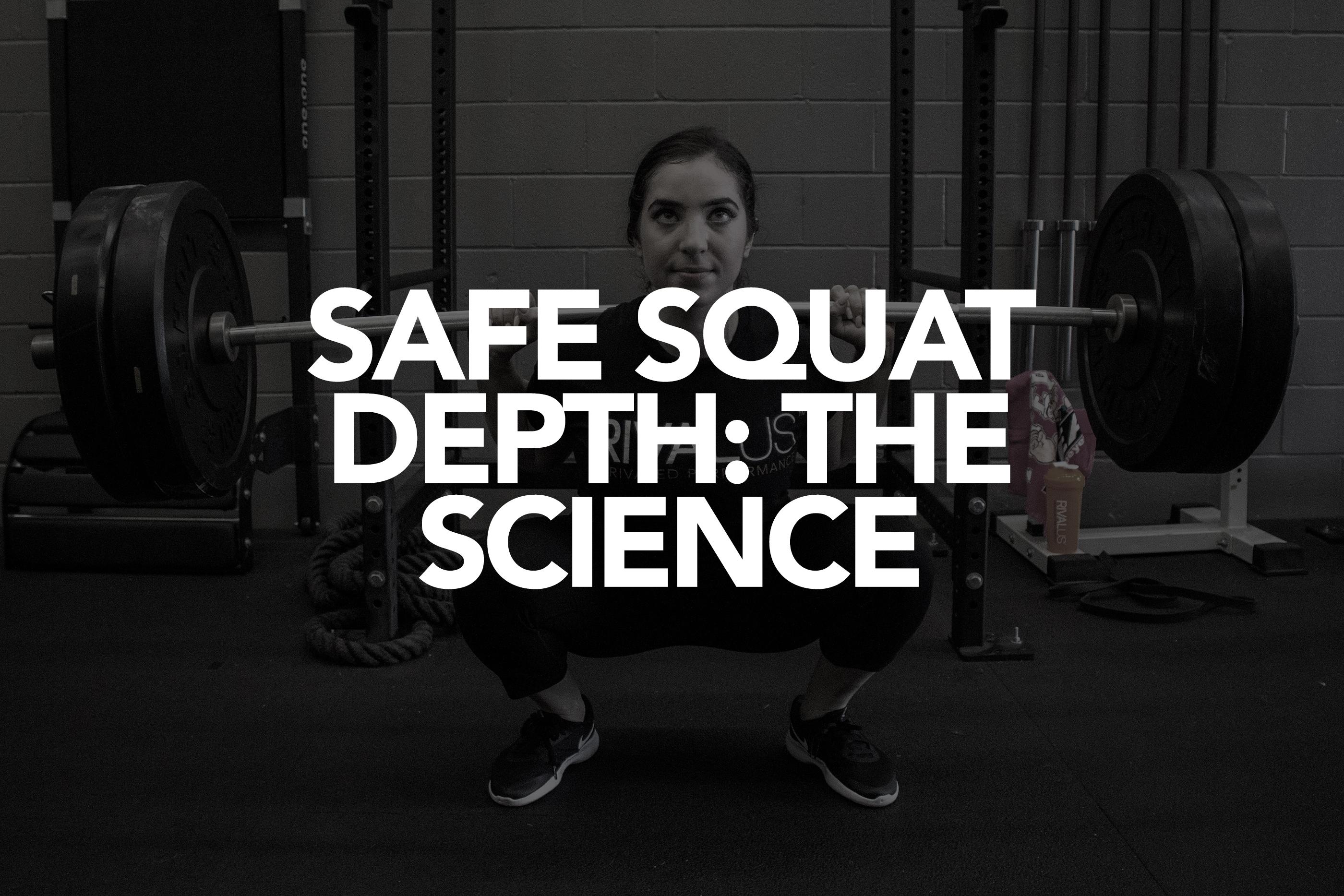Safe Squat Depth: The Science