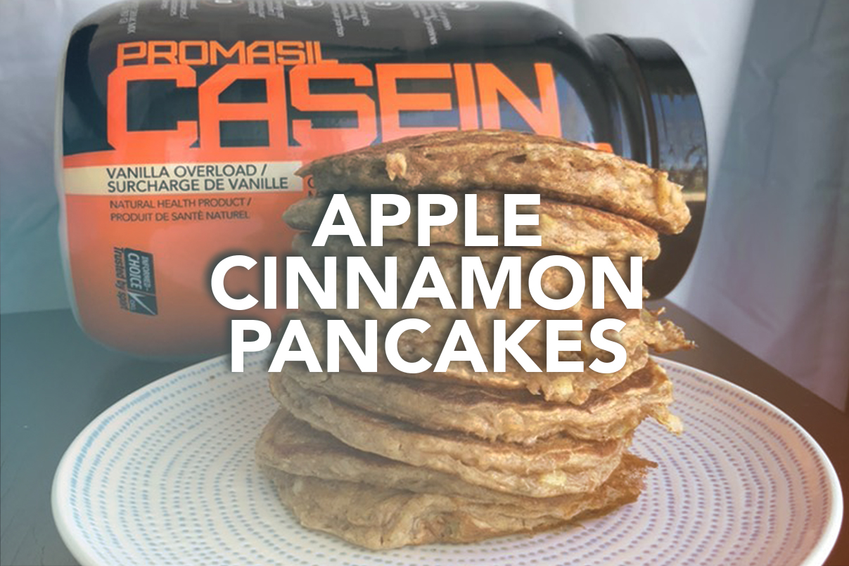 Rivalus At Home Recipes: Apple Cinnamon Pancakes