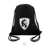 Lion Shield Drawstring Backpack