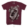 Tattoo Hands 018 - Burgundy