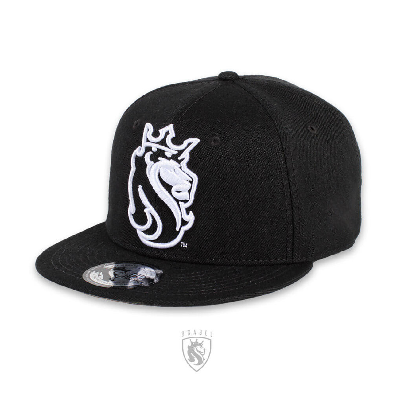 Black Snapback with OG Lion ABEL \