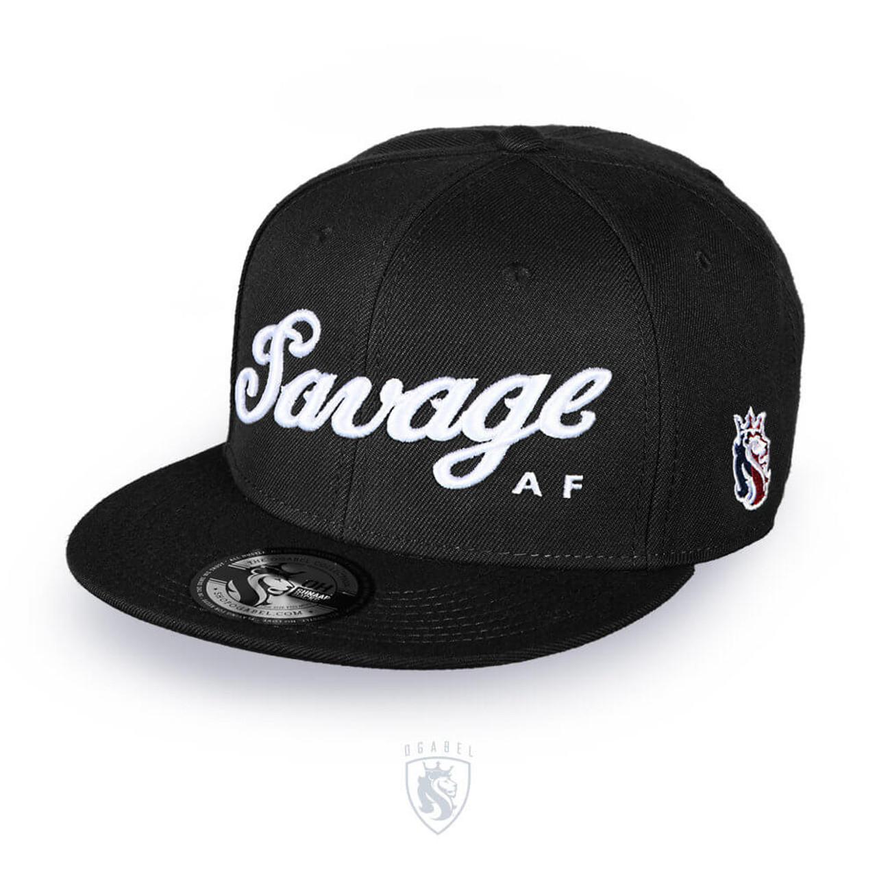 ad36b9b97 Savage Snapback (Black)
