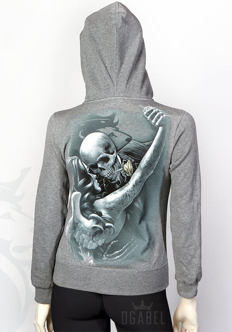 Tango Jrs Hoodie (Heather Grey)