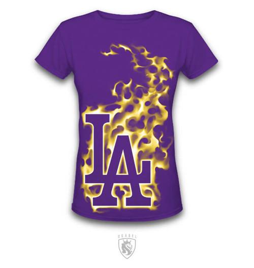 LA Hot CHICK Purple