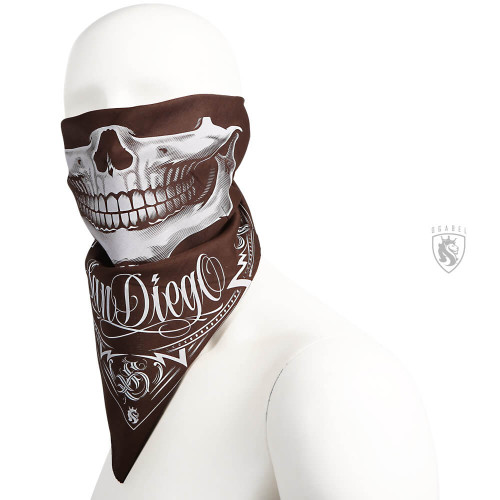SD Bandit Brown Bandana