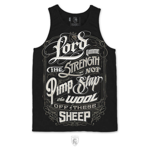 Lord gimme the strength to pimp slap the wool off of these sheep