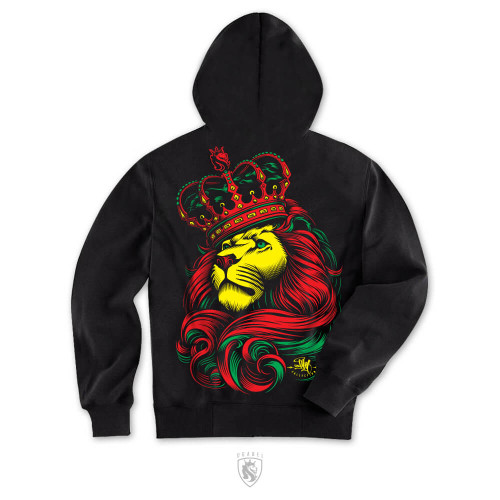 Crown Rasta Hoodie
