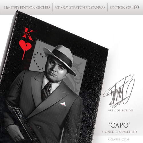 "Capo 6.5""x 9.5"" Limited Edition Canvas"