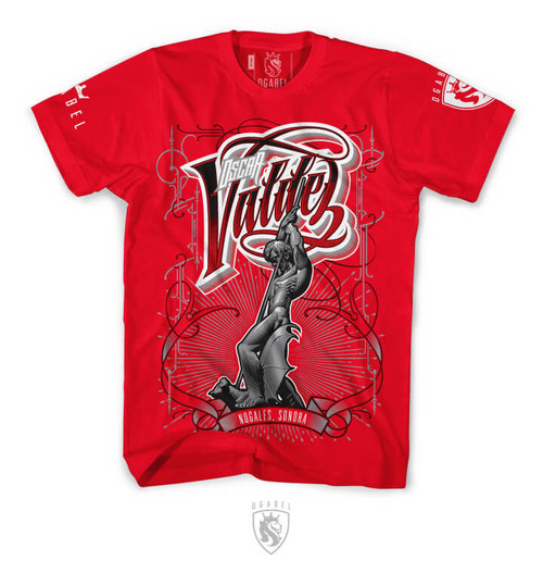 Official Oscar Valdez fight tee. FREE USA SHIPPING!