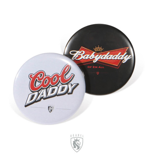 OG Buttons - Baby Daddy + Cool Daddy