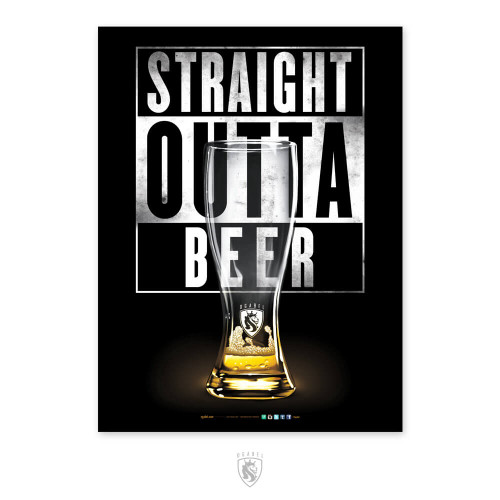 Outta Beer 18X24 Poster