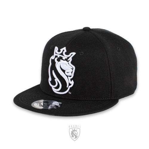 Black Snapback with OG Lion