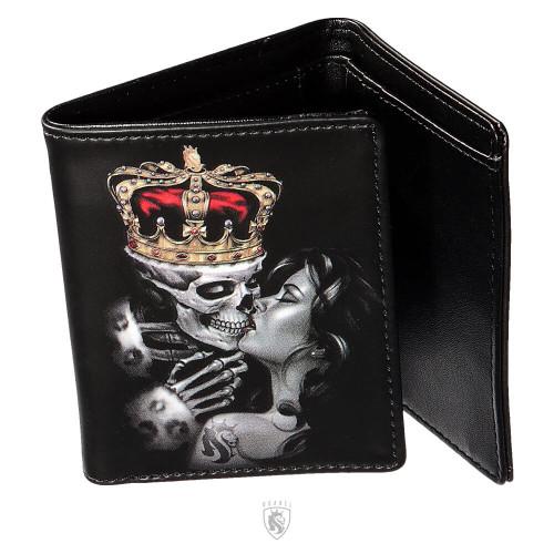 Lost King Tri Fold Wallet